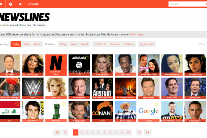 Featured Startup Pitch: Newslines looks to take on Wikipedia and Google News with its crowdsourced news search platform