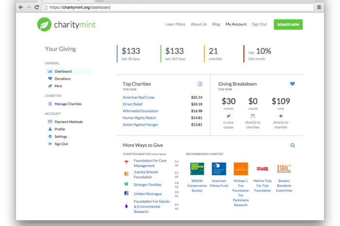 Lightning Pitch: CharityMint – Charitable giving made easy
