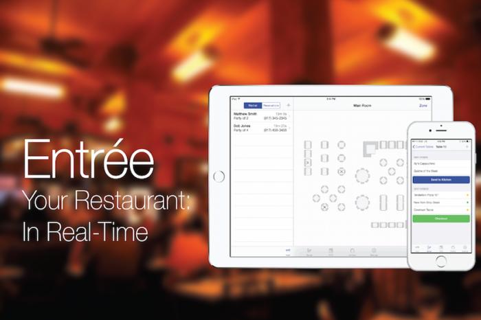 Lightning Pitch: Entrée – Your restaurant in real-time