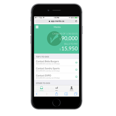 Featured Startup Pitch: Mentio's accounting app monitors finances and provides proactive guidance for small businesses