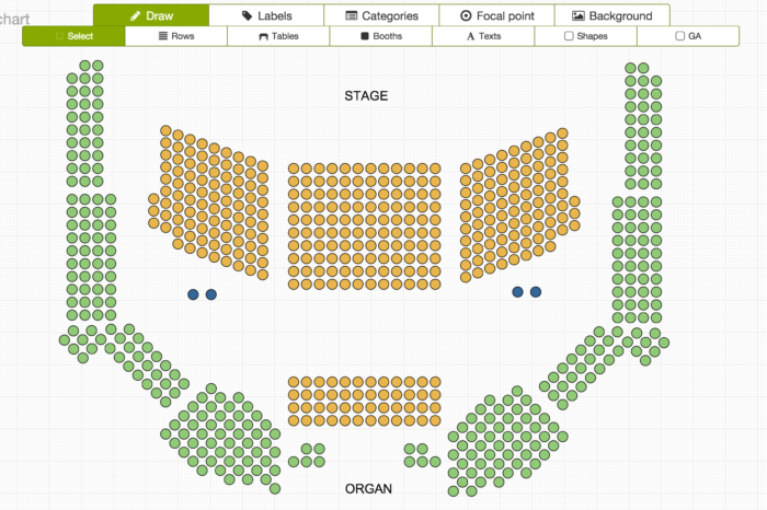 Lightning Pitch: Seats.io – Floor plan plugin for event software