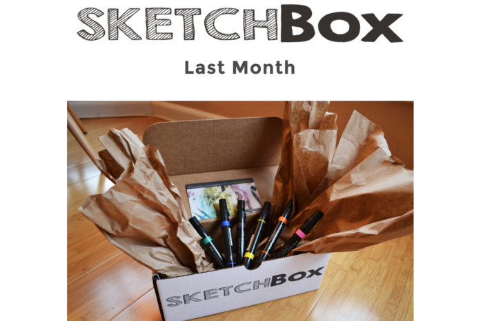 Lightning Pitch: SketchBox – Monthly subscription box for art and art supplies