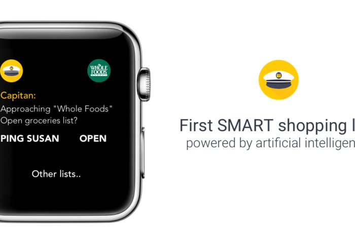 Lightning Pitch: Capitan – Google Maps directions for your shopping list