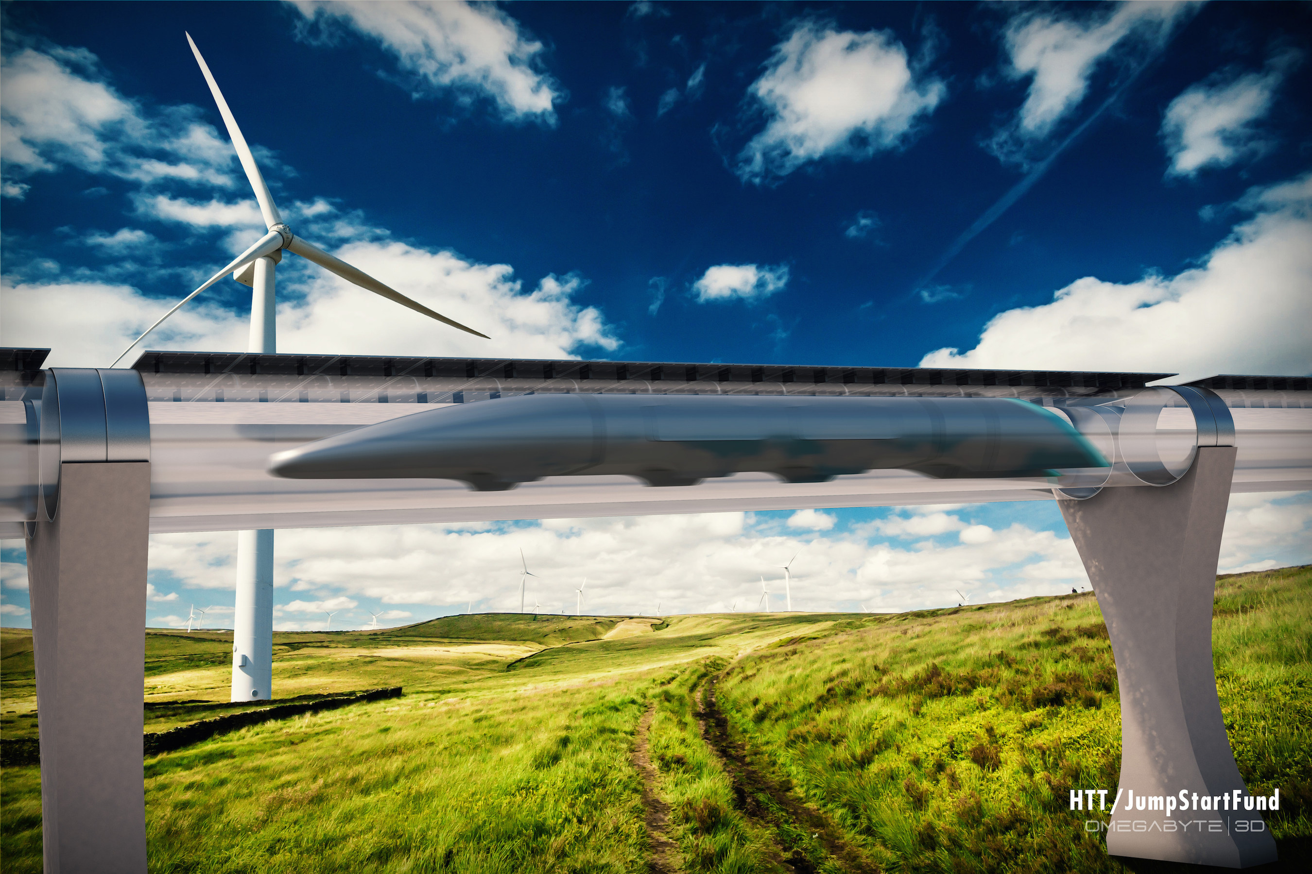Hyperloop Transportation Technologies Inc