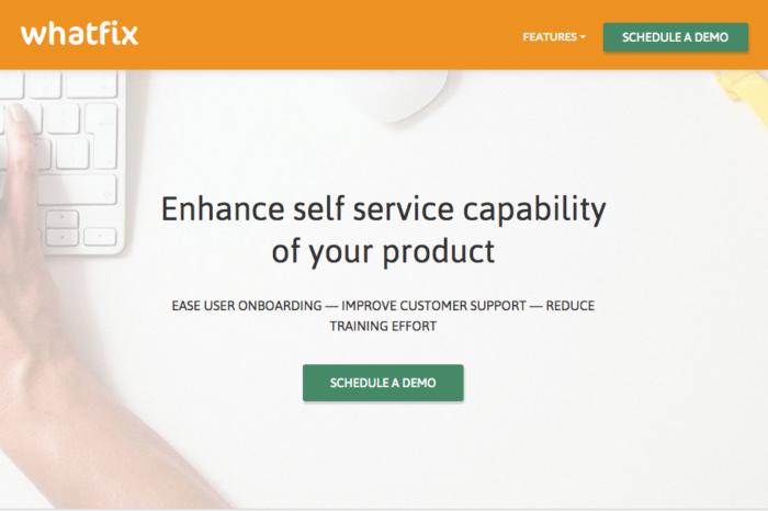 Lightning Pitch: Whatfix – Enhancing self-service capability of any web product