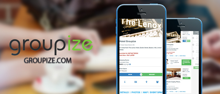 Groupize unveils instant bookings for small groups on Groupize.com affiliate sites