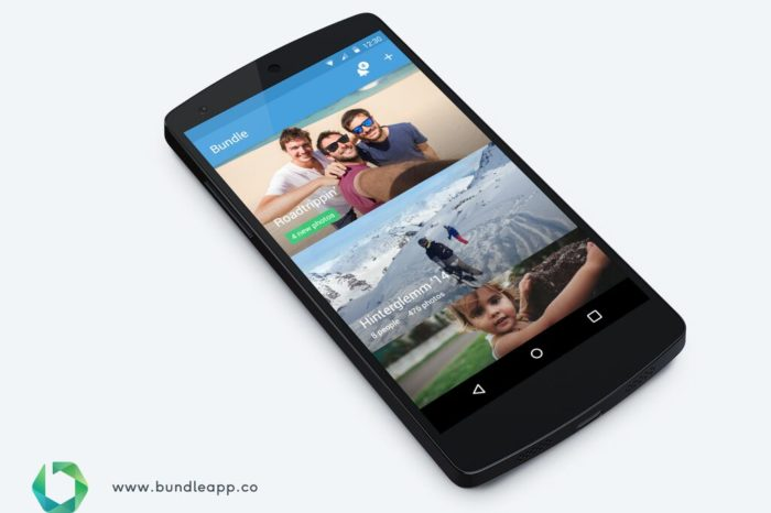 Turn your photo mess into a beautifully-shared photo gallery with Bundle, now available worldwide on iOS and Android