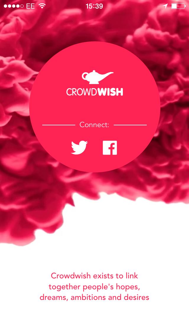 Crowdwish screen2