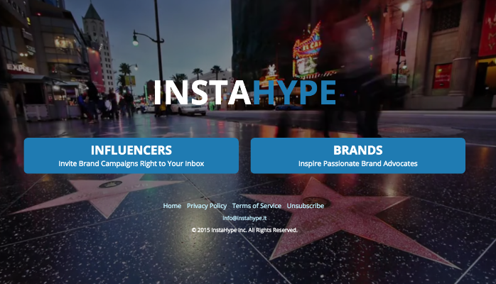 Lightning Pitch: Instahype – Matchmaking for brands