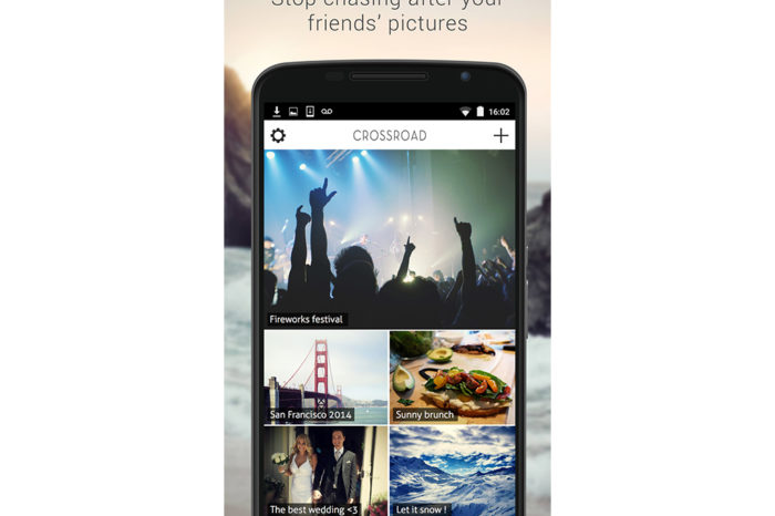 Lightning Pitch: Crossroad – It has never been this easy to gather your friends' pictures