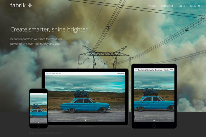 Lightning Pitch: Fabrik – Portfolio websites, powered by clever tech and you