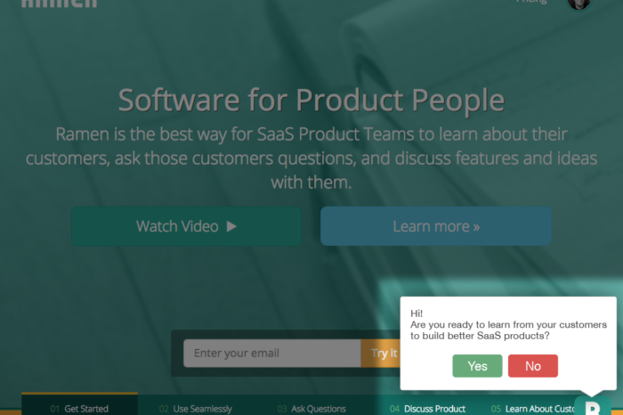Lightning Pitch: Ramen – Software for product people