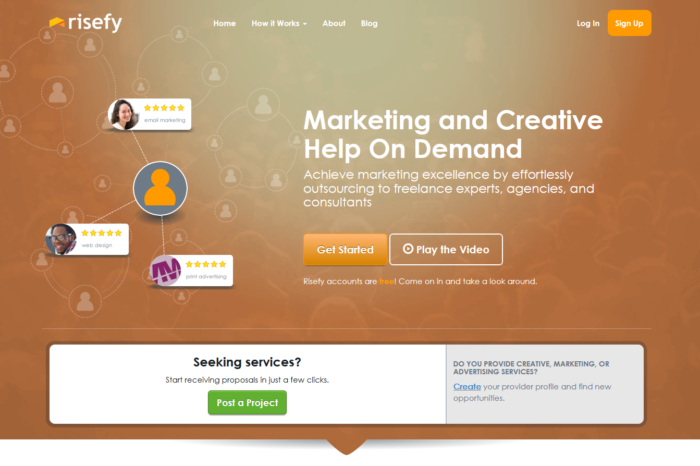 Lightning Pitch: Risefy – Marketing and creative services on demand