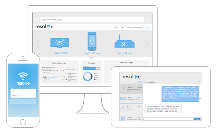 Resolve launches automated customer service app