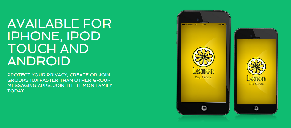 Featured Startup Pitch: Lemon Group Messenger – A new, privacy