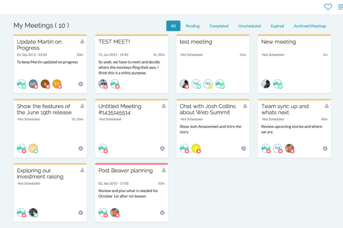 Featured Startup Pitch: Amazemeet – On a mission to put an end to bad meetings
