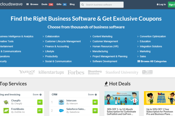 Featured Startup Pitch: Cloudswave – Saving startups money on top-rated software