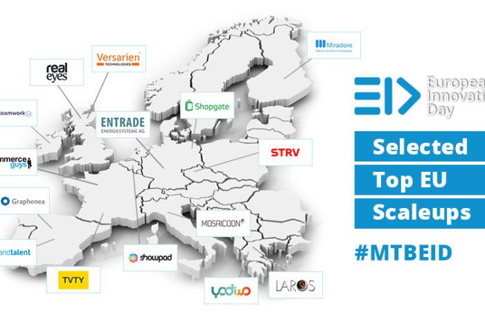 Top European scaleups come to Silicon Valley: 15 scaleups to represent Europe at the SEC2SV European Innovation Day (EID)
