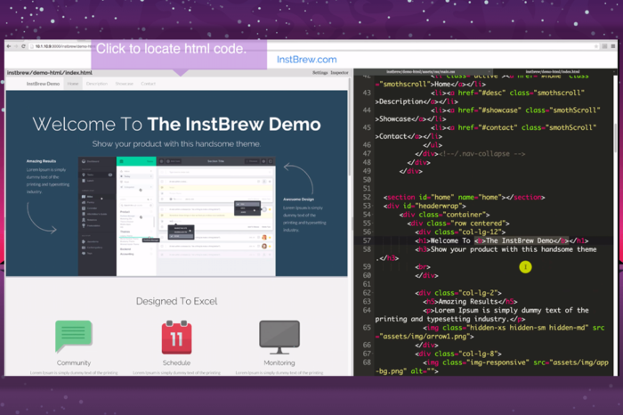 Featured Startup Pitch: InstBrew – Streamlining the web development process