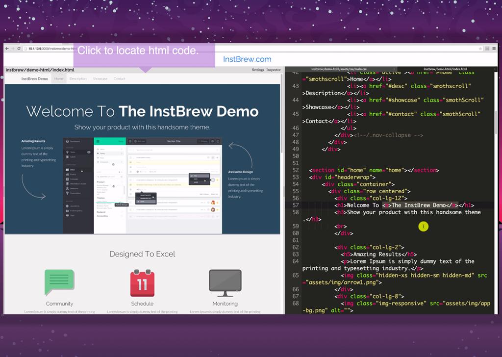 InstBrew screen
