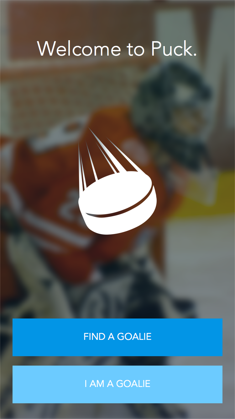 Featured Startup Pitch Puck App Rent A Goalie For Private Hockey