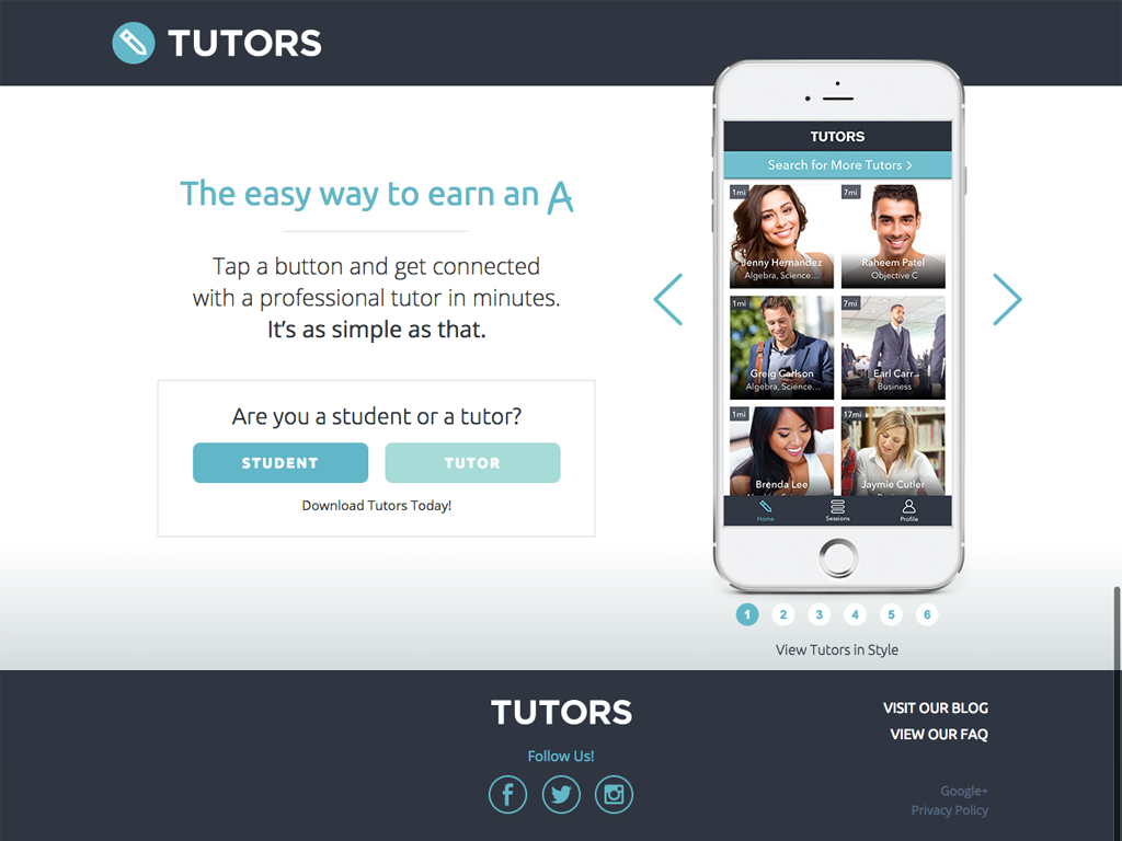 Tutors-App-On-Demand-Tutoring-Screenshot