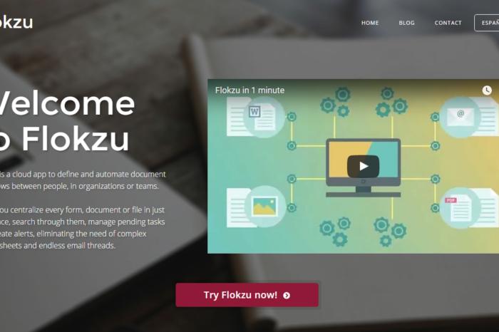Featured Startup Pitch: Flokzu - Cloud-based business process management for smaller enterprises