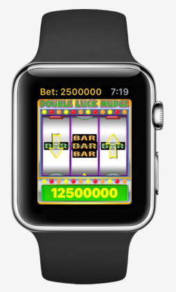 First professional slot machine from casino floor debuts on Apple Watch