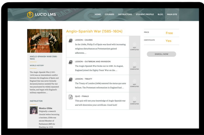 Featured Startup Pitch: LucidLMS – A full-feature online course creation tool