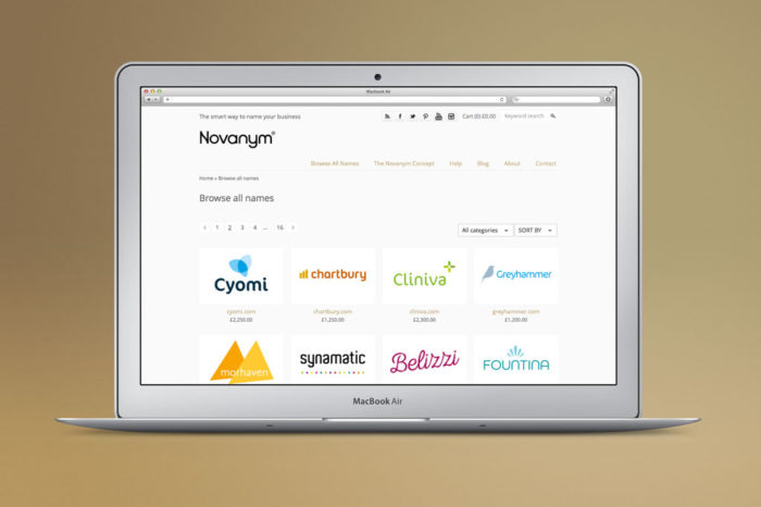 Featured Startup Pitch: Novanym – Helping startups find a name with the right .com domain