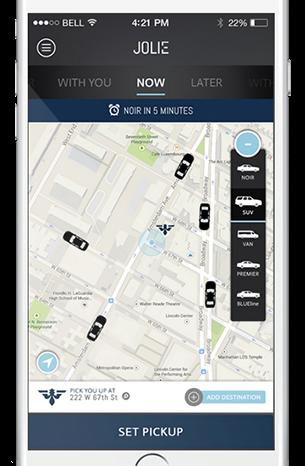 Featured Startup Pitch: Jolie - An online platform for chauffeurs