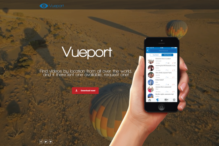 Featured Startup Pitch: Vueport - Request videos by location from anywhere in the world