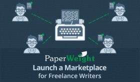 Featured Startup Pitch: PaperWeight – A robust platform to launch a freelance writers marketplace
