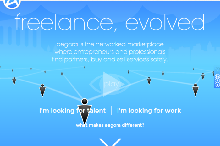 Featured Startup Pitch: Aegora - A networked marketplace for entrepreneurs and professionals
