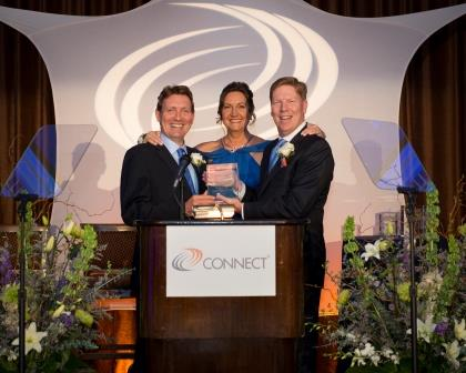 CONNECT recognizes Drs. Magda Marquet and François Ferré, renowned San Diego innovators, at Entrepreneur Hall of Fame Award gala