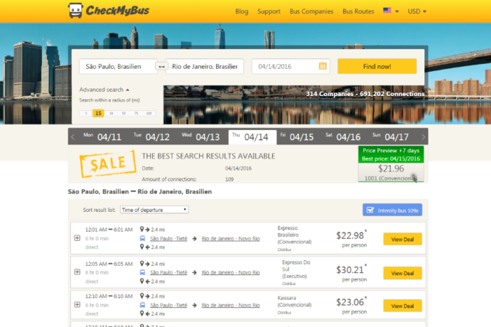 CheckMyBus partners with ClickBus and launches new website in Mexico