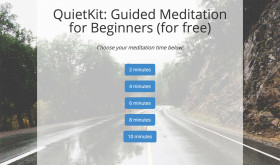 Featured Startup Pitch: QuietKit – Introducing beginners to meditation