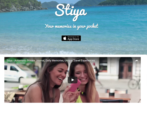 Lightning Pitch: Stiya - Journal from your mobile phone