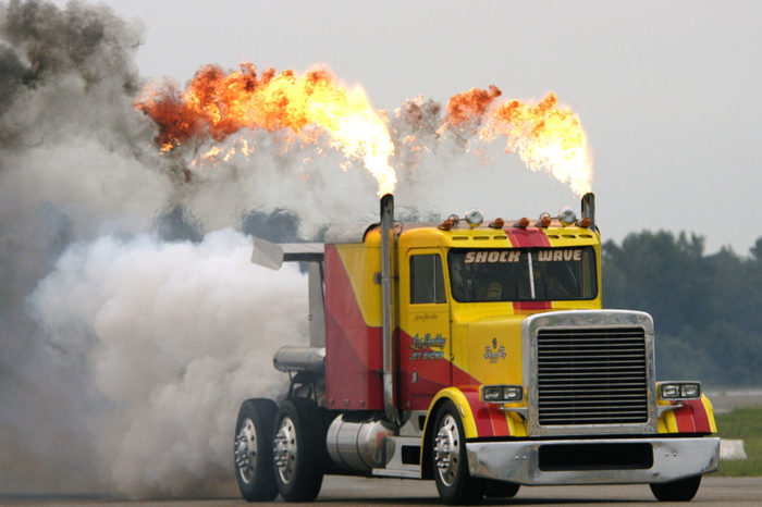 (Don't) Keep on Truckin': How to disrupt transportation pollution