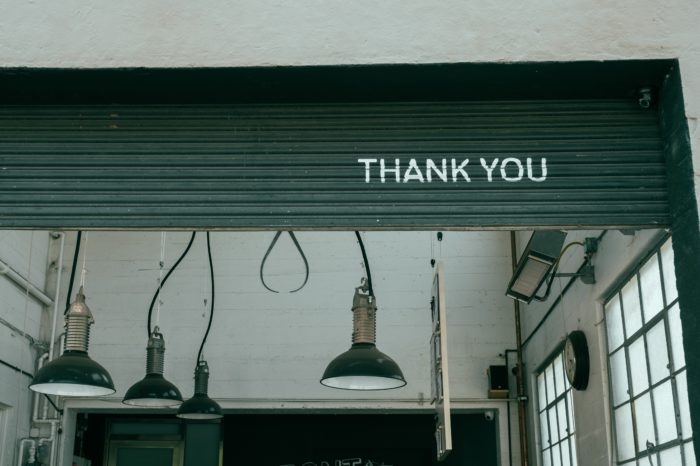 The importance of saying thank you in business and beyond