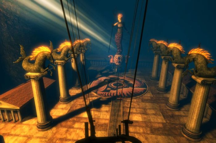 New trailer for Virtual Reality startup's Greek mythology roller coaster game