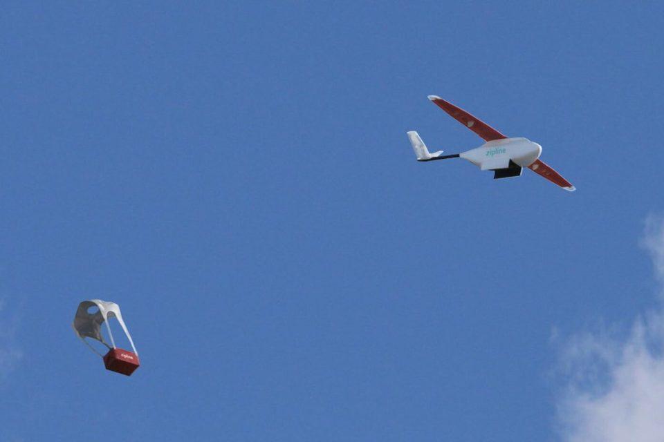 zipline drones