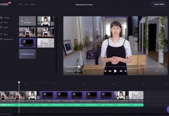 ​Clipchamp Create simplifies online video editing