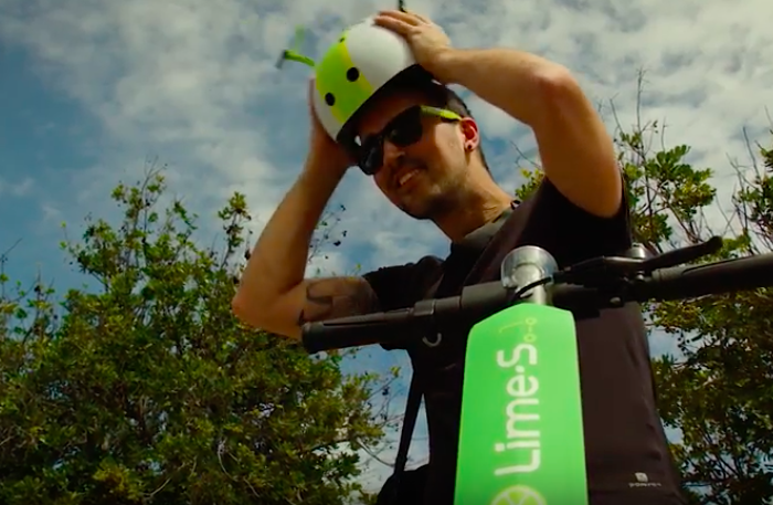 Electric scooter startup Lime announces partnership with Uber in big fundraising round