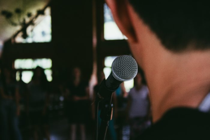 Battling the common fear of public speaking