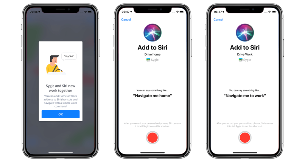 Sygic GPS Navigation is Now Available Through Siri Shortcuts
